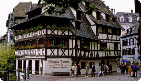 Strasbourg maps - area and city street maps of Strasbourg, France ...