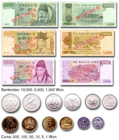 Currency In Seoul South Korea Latest