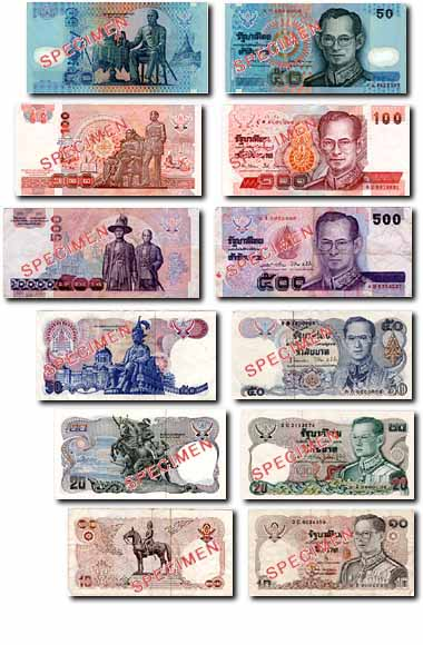 Bangkok Notes And Coins