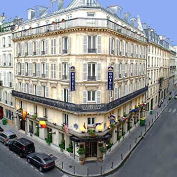 Hotel aida opera paris france independent hotel hotels for Reservation hotel france paris