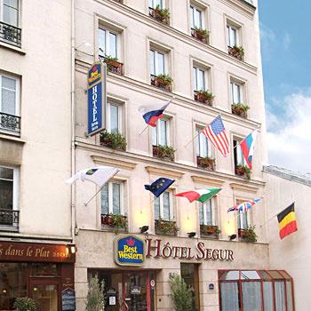 Hotel Eiffel Segur Paris France Independent Hotel