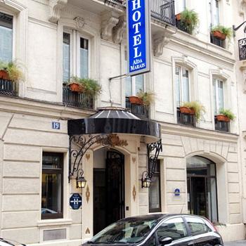 Hotel Aida Marais Paris France Independent Hotel