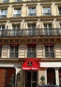 Comfort Hotel Opera Drouot Paris - France