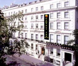 Comfort Inn Hyde Park London - England