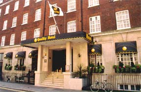 Quality Hotel Westminster London - England